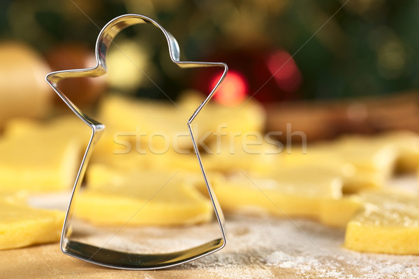 Angel-Shaped Cookie Cutter Stock photo © ildi