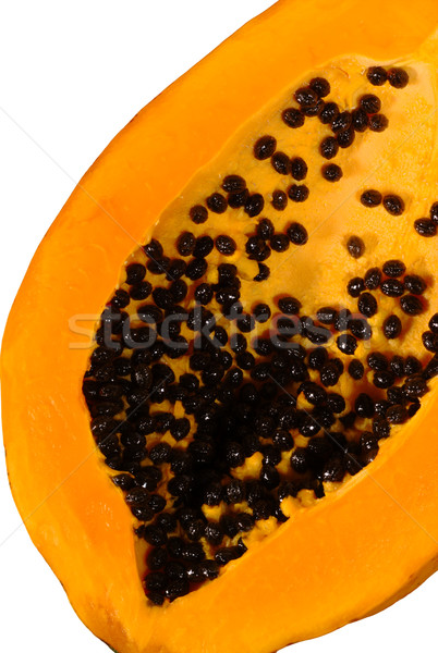 Papaya Half Stock photo © ildi