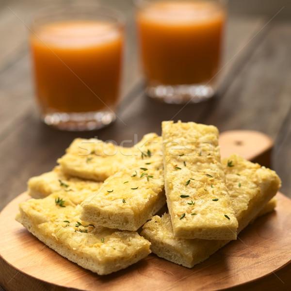 ニンニク チーズ 新鮮な 自家製 酵母 務め ストックフォト © ildi