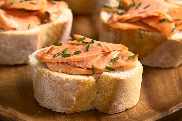сэндвич Бутерброды избирательный подход Сток-фото © ildi