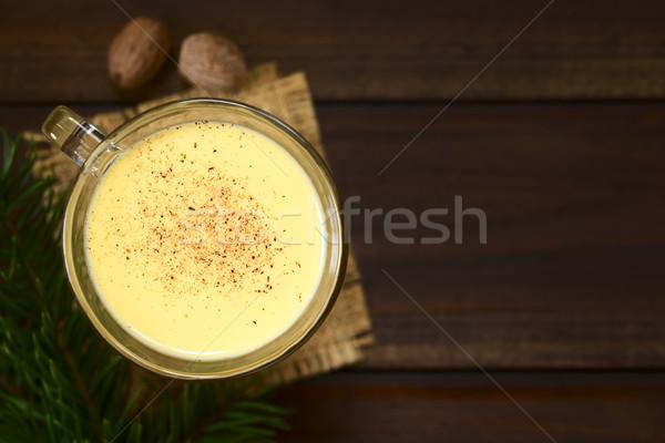 Eggnog Stock photo © ildi