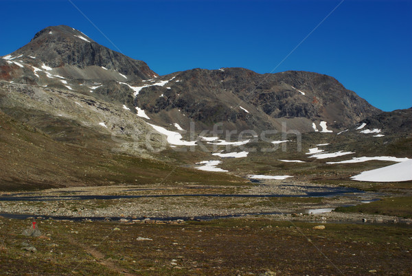 Barren Mountain Scenery Stock photo © ildi