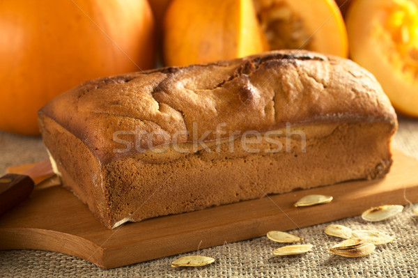 Fresh Baked Pumpkin Bread Stock photo © ildi