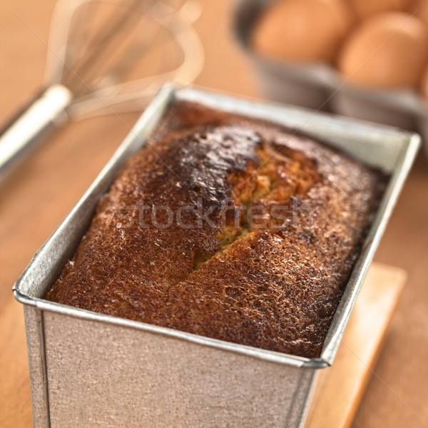 Freshly Baked Pound Cake Stock photo © ildi