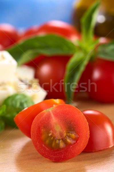 Cherry Tomato  Stock photo © ildi