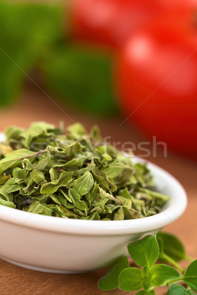 Stock photo: Dried Oregano