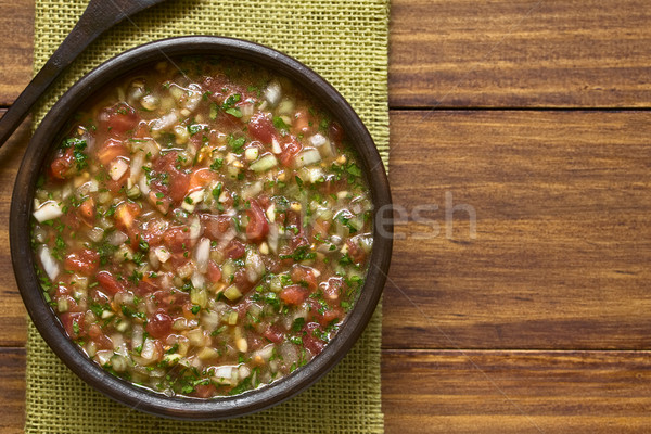 Chilean Pebre Sauce Stock photo © ildi