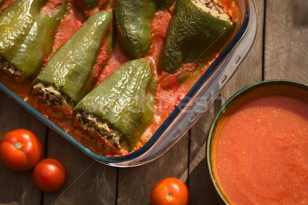 Hungarian Filled Pepper Stock photo © ildi