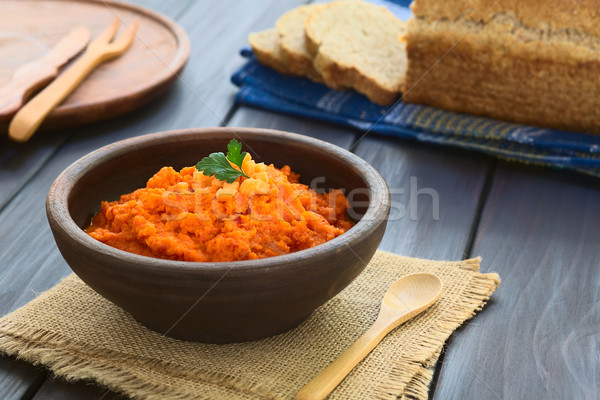 Carrot and Red Bell Pepper Spread Stock photo © ildi