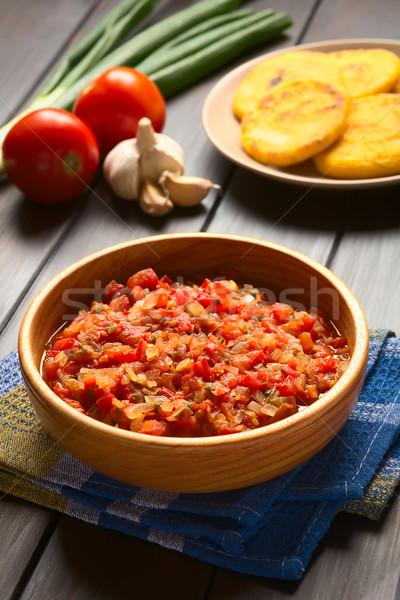 Colombian Hogao or Criollo Sauce Stock photo © ildi