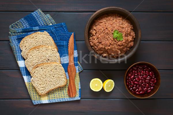 Brood Rood nier boon shot Stockfoto © ildi