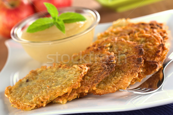 Potato Fritters Stock photo © ildi