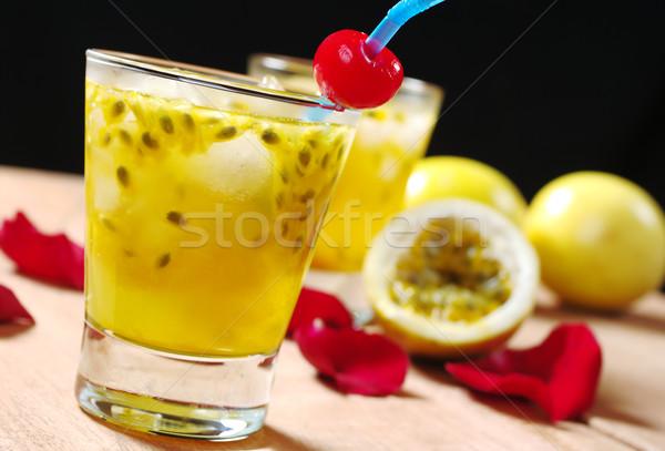 Passion-fruit Juice Stock photo © ildi
