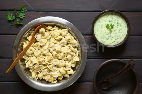 Cooked Tortellini Stock photo © ildi