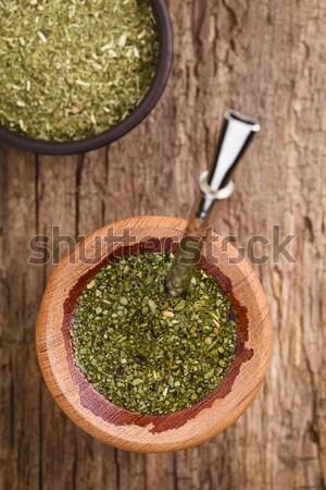 Chia Sprouts Stock photo © ildi