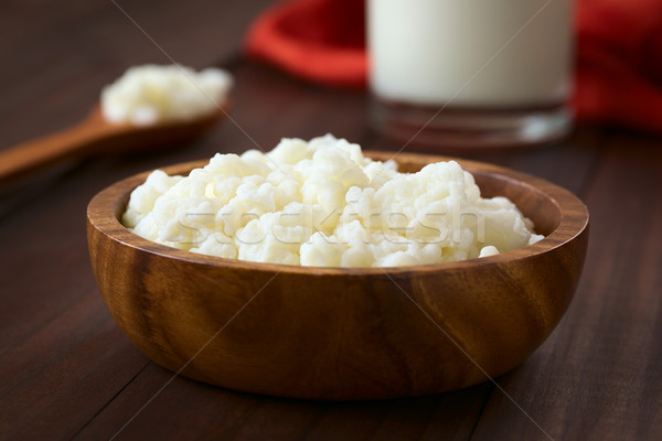 Milk Kefir Grains Stock photo © ildi