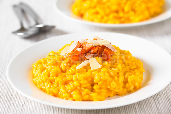 Carrot Risotto Stock photo © ildi