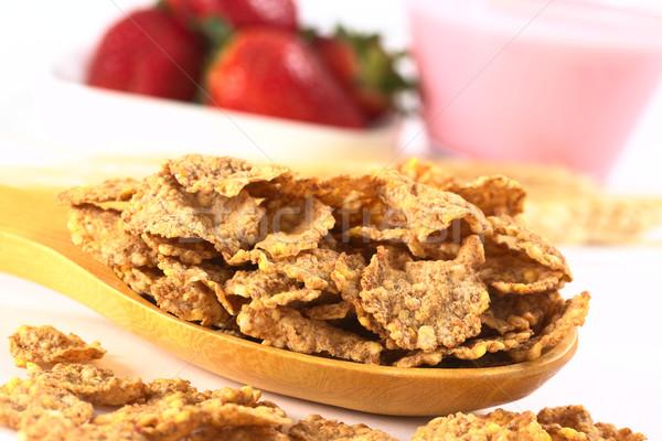 Wholewheat Cereal   Stock photo © ildi