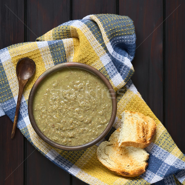 Cream of Lentil Soup Stock photo © ildi