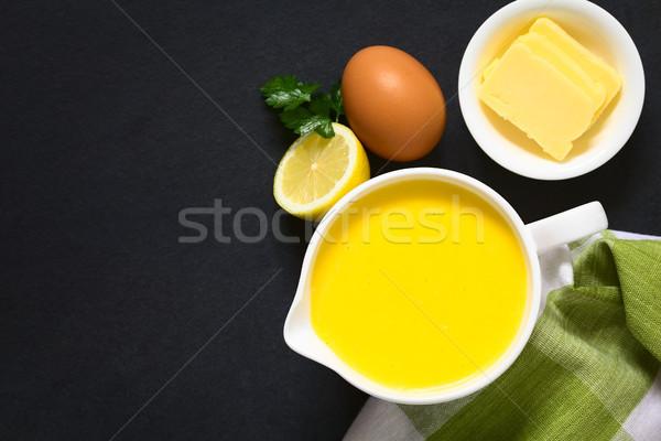 Hollandaise Sauce Stock photo © ildi