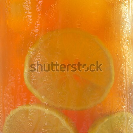 Iced Tea Background Stock photo © ildi