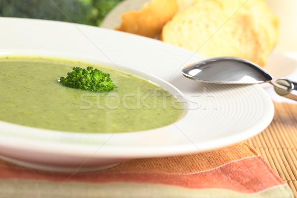 Cream of Broccoli Stock photo © ildi