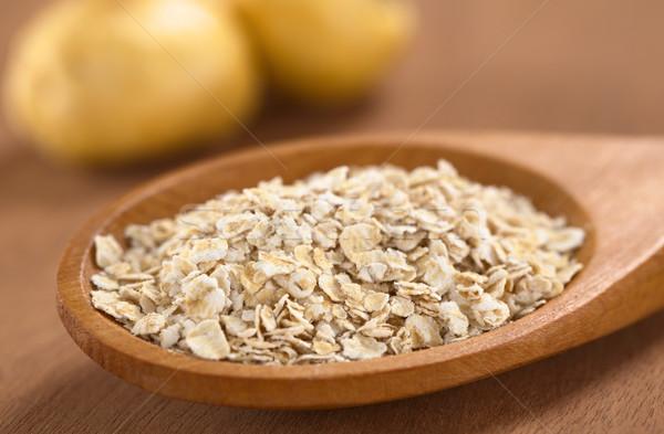 Oatmeal with Maca  Stock photo © ildi