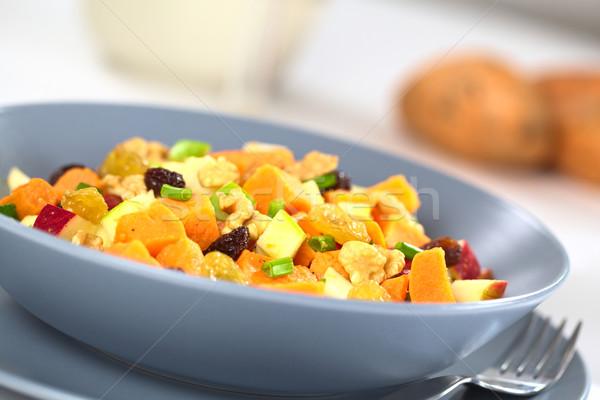Sweet Potato and Apple Salad Stock photo © ildi