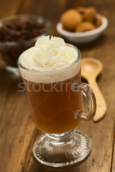 Hot cacao shell thee vers warme chocolademelk Stockfoto © ildi