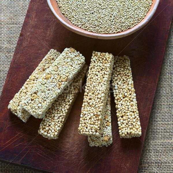 Quinoa Cereal Bars Stock photo © ildi