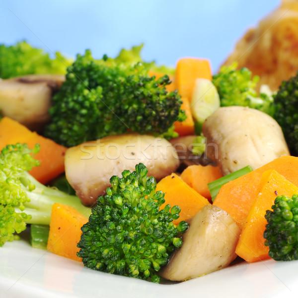 Fried Vegetables Stock photo © ildi