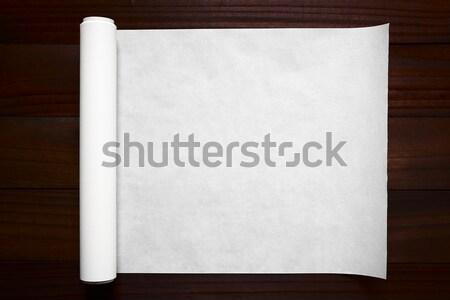 Baking Paper Stock photo © ildi