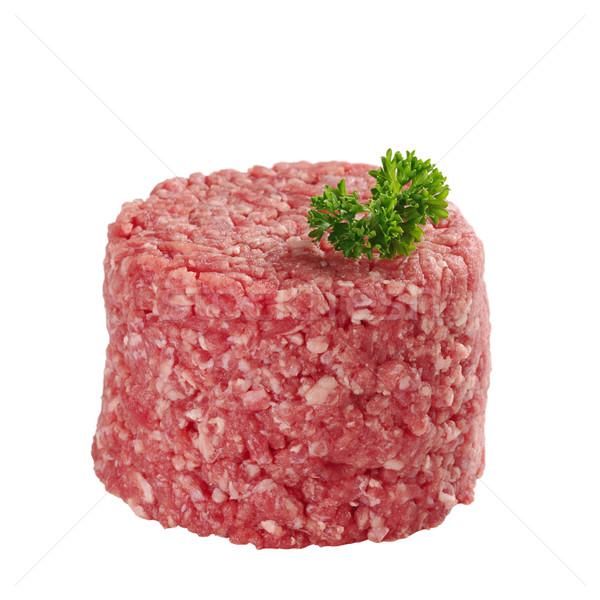 Ground Meat with Parsley Stock photo © ildi