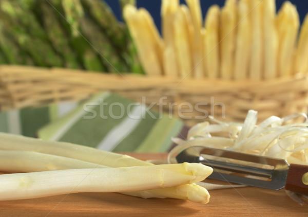 White Asparagus  Stock photo © ildi
