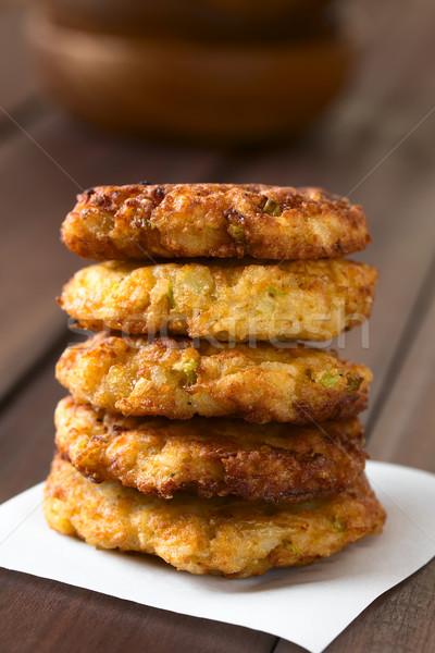 Rice Patties or Fritters Stock photo © ildi