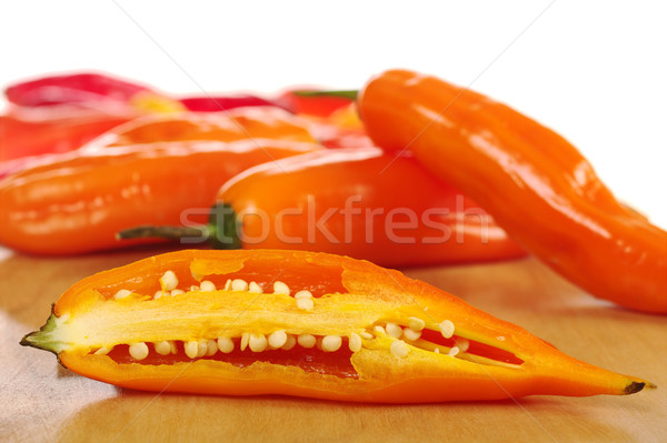 Aji (Peruvian Hot Pepper) Stock photo © ildi