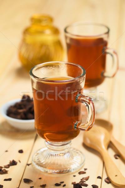 какао чай свежие горячий шоколад травяной чай оболочки Сток-фото © ildi
