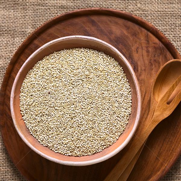 White Quinoa Seeds  Stock photo © ildi