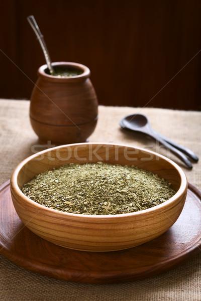 South American Mate Tea  Stock photo © ildi