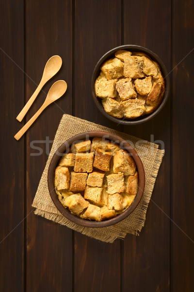 Bread Pudding Stock photo © ildi