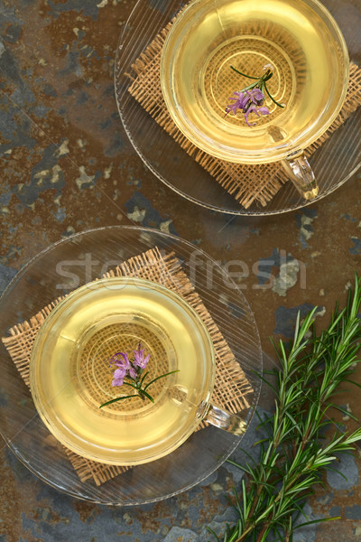 Rosemary Herbal Tea Stock photo © ildi