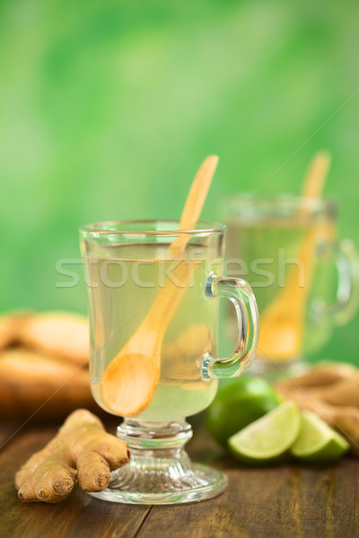 Hot Ginger Tea Stock photo © ildi