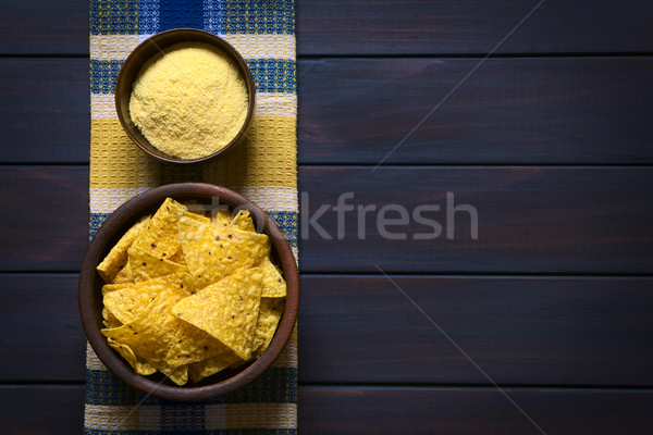 Tortilla Chips and Cornmeal Stock photo © ildi
