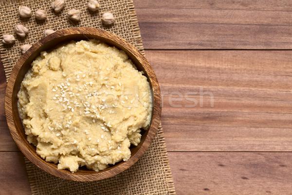 Chickpea Spread or Hummus Stock photo © ildi