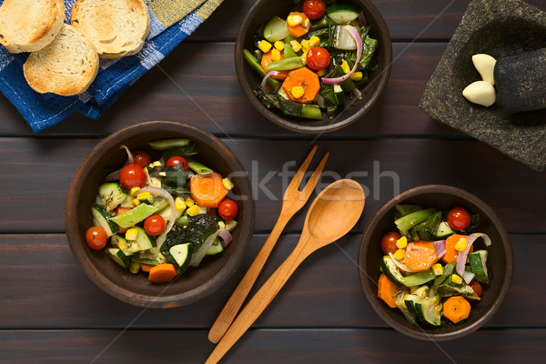Baked Vegetables Stock photo © ildi