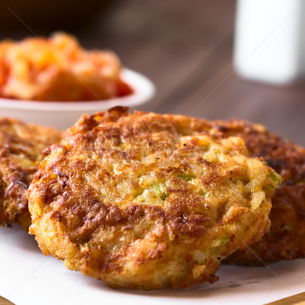 Rice Patties or Fritters Stock photo © ildi