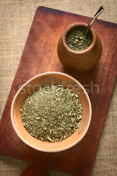 South American Mate Tea  Stock photo © ildi