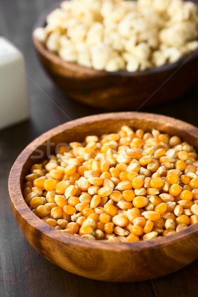Yellow Popcorn Kernels Stock photo © ildi