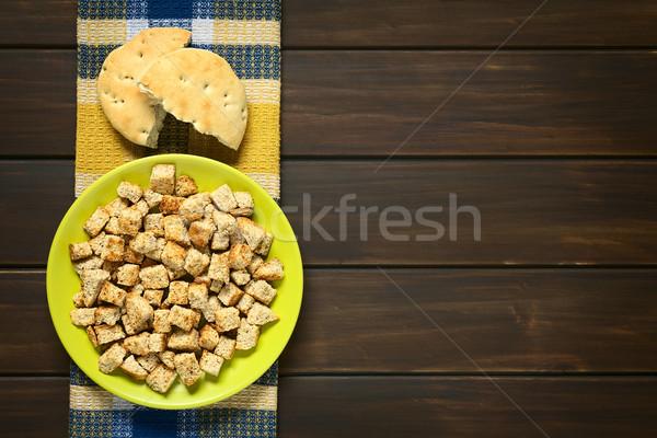 Frescos casero tiro tostado integral Foto stock © ildi