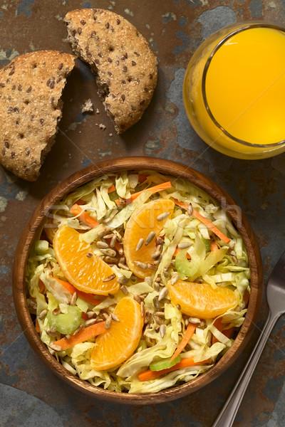 Cavolo carota sedano arancione insalata fresche Foto d'archivio © ildi